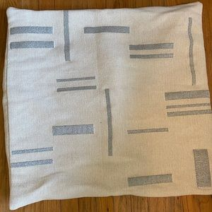 West elm pillow cover large square